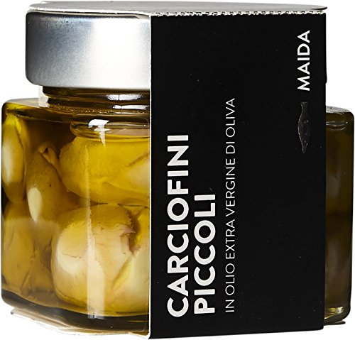 Small Artichokes in Extra Virgin Olive Oil By Maida