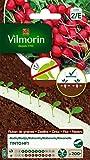 Vilmorin 3881249 Ruban radis, Rouge, 2 x 2,5 m