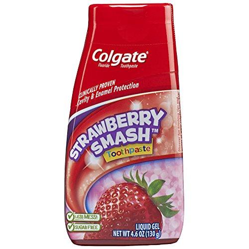 Colgate 2in 1Kinder Zahnpasta Erdbeer Geschmack 4,6oz