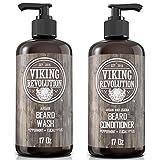 Viking Revolution Beard Wash & Beard Conditioner Set...