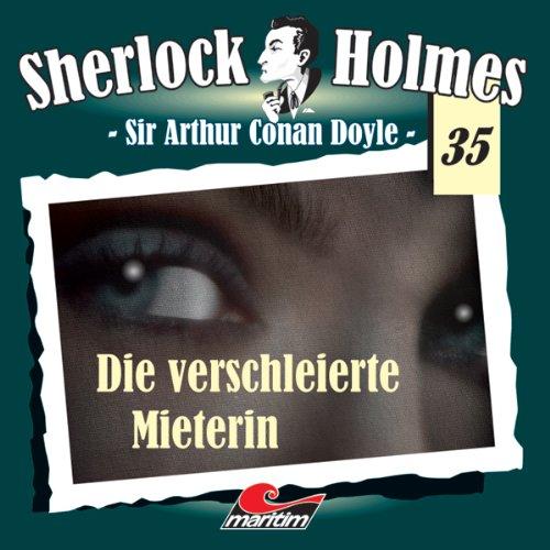 Die verschleierte Mieterin audiobook cover art