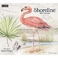 LANG Shoreline 2021 壁掛けカレンダー (21991001993)
