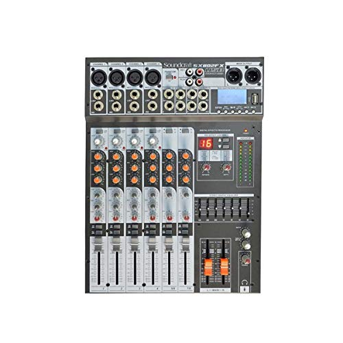MESA de SOM ANALÓGICA 8 CANAIS SX802FX-USB, SOUNDCRAFT, 28900089