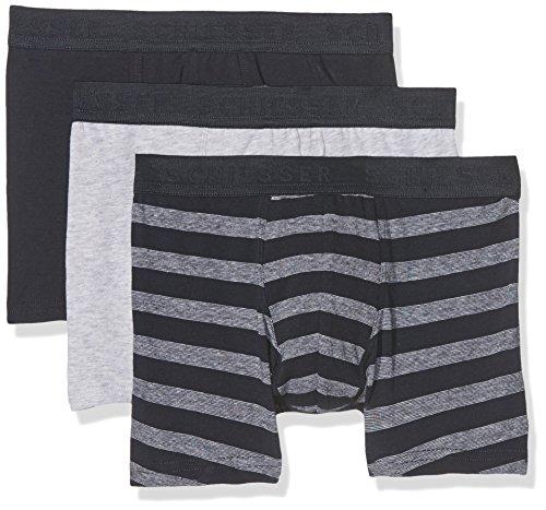 Schiesser Jungen Family 3Pack Shorts Boxershorts, Mehrfarbig (Sortiert 1 901), 152 (Herstellergröße: S) (3er Pack)