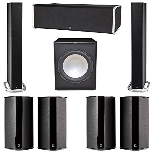 Amazing Deal Definitive Technology 7.1 System with 2 BP9060 Tower Speakers, 1 CS9080 Center Channel ...