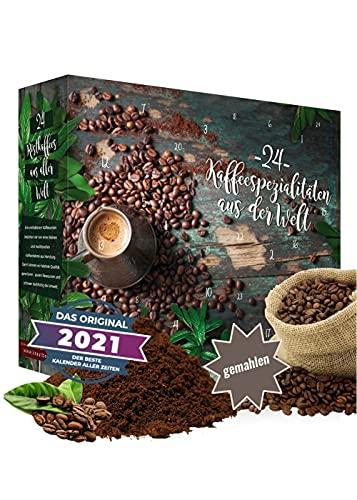 Calendrier de l'Avent 2020 Café en grains I Calendrier de l'Avent café avec 24 variétés de café...