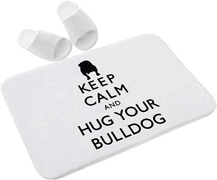 huibe Asciugamano Sportivo Bulldog Francese Multicolore Asciugamano da Bagno Asciugamano Asciugamano da Bagno Super soffice in Poliestere 30 x 70 cm