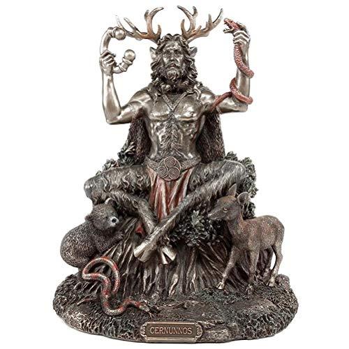 BASOYO Figura decorativa de Altar de Dios Pagan Dios Pagan Cernunnos