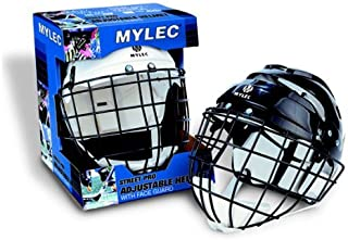 Mylec Sr. Helmet with Wire Face Guard (Renewed)