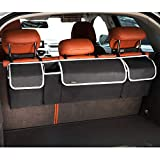 PIDO Backseat Trunk Organizer, Hanging Seat Back Storage Organizer for SUV and Many Vehicles – Free Your Trunk Space