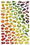 1art1 Kochkunst - Regenbogen Aus Obst Und Gemüse Poster 91