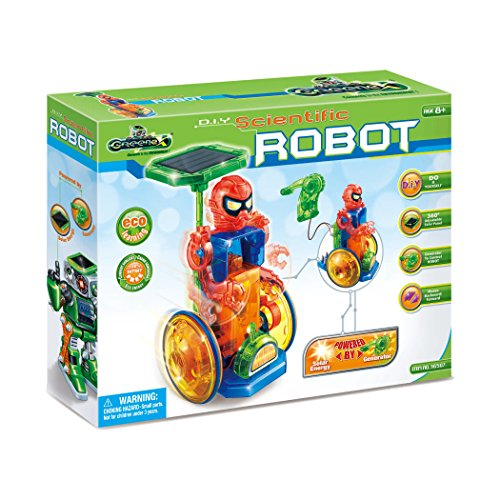 Amazing Toys Greenex D.I.Y. Scientific Robot Interactive Science Learning Kit