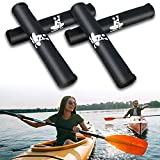 Boaton Kayak Paddle Grips, Non-Slip Paddle Grip for Take-Apart Kayak Paddle Shaft, Prevent Blister and Callouses, Make Kayaking Easier and Comfortable, Kayak Accessories, Pack of 4, Black
