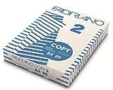 Fabriano Fabriano-1297 Risma Fotocopie Fabriano2 A4 80 Gr. (500 Fogli) Carta da, Multicolore, 8001348103004