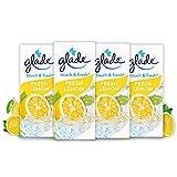 Glade Touch & Fresh (Brise One Touch) Nachfüller, Lufterfrischer Minispray, Fresh Lemon (Limone), 4er Pack (4x10 ml)