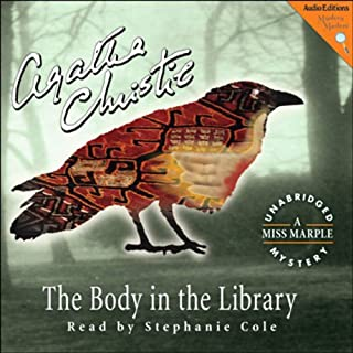 The Body in the Library audiobook cover art
