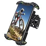Soporte Movil Bicicleta, Techole Soporte Movil Moto Bicicleta con Rotación 360°, Anti Vibración Soporte Movil Bicicleta Universal para Xiaomi 10S/11/11Pro/11Ultra(4.7-7.0 Pulgadas) Smartphones