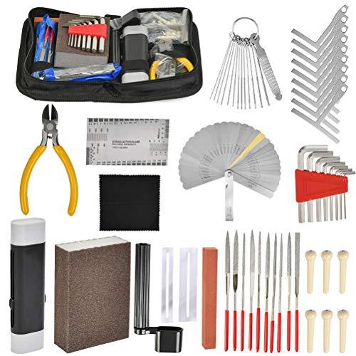 YANSHON Gitarren Pflegeset, Gitarren-Reinigungs- und Pflegeset, Gitarre Reparatur und Wartung Werkzeuge Set