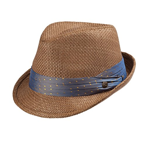 Peter Grimm Stoli Fedora - Trilby Hat - Brown