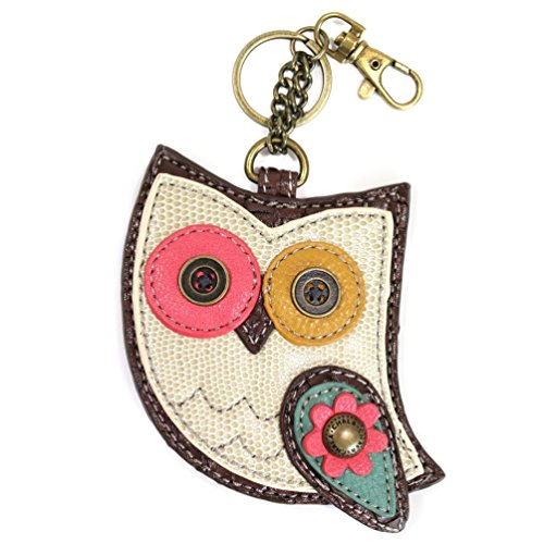 Chala Key Fob/coin Purse (Color Owl), Small
