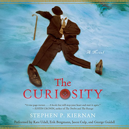 The Curiosity audiobook cover art