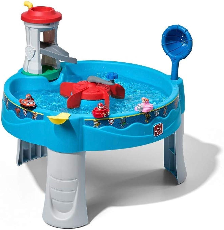 Beauty.Scouts Wasserspieltisch Sam aus Kunststoff 80x80x62,2cm Sand- und Wassertisch Matschtisch Spieltisch Kinder modern robust modern Kinderspielzeug