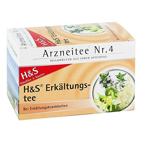 H&S Erkältungstee Arzneitee Nr. 4, 20 St. Filterbeutel