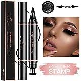 Winged Eyeliner Pencil Stamp - Perfect Cat Eye Vamp Liquid Black Quick Flick Wingliner Waterproof Stencil Wing...