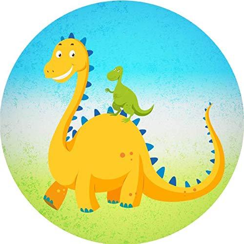 Torta commestibile decorazione dinosauri10 / 20 cm Ø