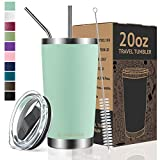 Umite Chef 20oz Tumbler Double Wall Stainless Steel Vacuum Insulated Travel Mug with Lid, Insulated Coffee...
