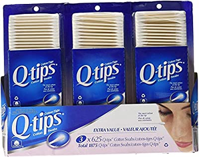3 Q-tips Cotton Swabs