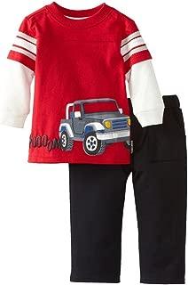 Toddler Boys Girls Unisex Long Sleeve Cotton 2PCS Clothing Sets