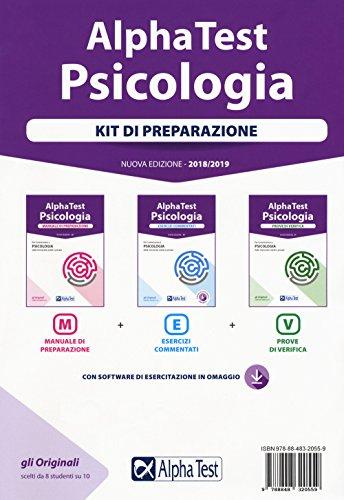 Alpha Test. Psicologia. Kit di preparazione: manuale di preparazione-Esercizi commentati-Prove di verifica. Con software