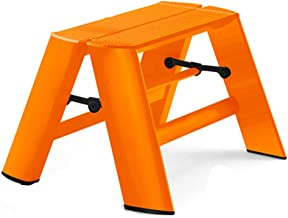 LIXIONG Escalera Plegable Casa Doblez Escalera Ascendente Aleación De Aluminio Proceso De Pintura Portátil, Rodamiento 100...