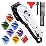 Professional Cordless Hair Clipper for Men Hair Haircuttings Kit Mustache Body Grooming Kit