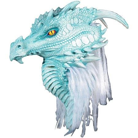 Premier Arctic Dragon Mask Adult Halloween Accessory