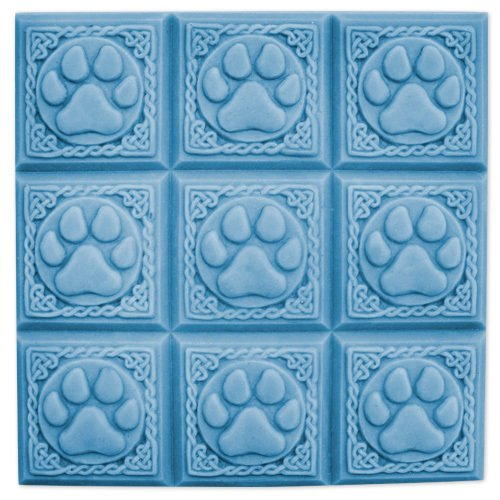 MilkyWay Paw Prints Soap Mold, 2.625' x 2.625' x 1.25', Clear
