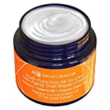 Korean Skin Care Snail Repair Cream - Korean Moisturizer Night Cream 97.5% Snail Mucin Ext...
