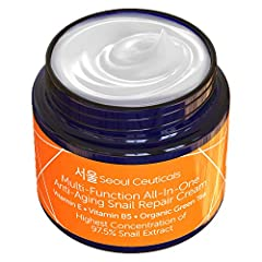 ✅ CONSIDERED TO BE FAR more effective than other snail creams as it contains a higher concentration (97.5%) of snail mucin extract. Other snail cream products are not as potent or effective. ✅ GUARANTEED TO WORK - We promise you'll begin to see brigh...