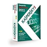 Kaspersky Lab Anti-Virus 2011 - Seguridad y antivirus (Caja, 3 usuario(s), 1 Año(s), 480 MB, 512 MB, 800 MHz)