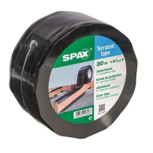 SPAX Abdeckband Terrasse 30 m x 87 mm auf einer Rolle