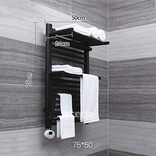 RAQ Elektrische Verwarming Handdoek Rack Dubbele Laag Smart Temperatuur Controle Thuis Badkamer Handdoek Rack Elektrische Verwarmde Handdoek Rail