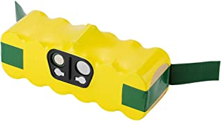 JMcall® 4500MAh 14.4V For IRobot Roomba 500 600 700 800 900 Series Vacuum Cleaner With(Yellow,ABS)