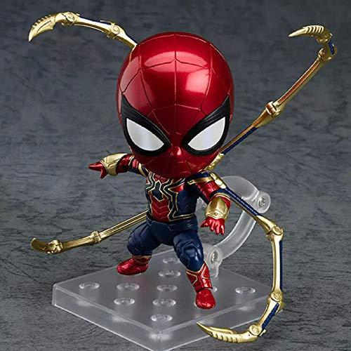 Marvel Spiderman #1037 Anime Figuras Lindos Juguetes Set Los Vengadores Ironman Modelo Figuras de Acción Capitán Americano Niños Muñeca Juguetes