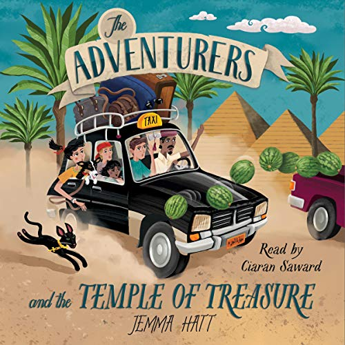 The Adventurers and the Temple of Treasure cover art