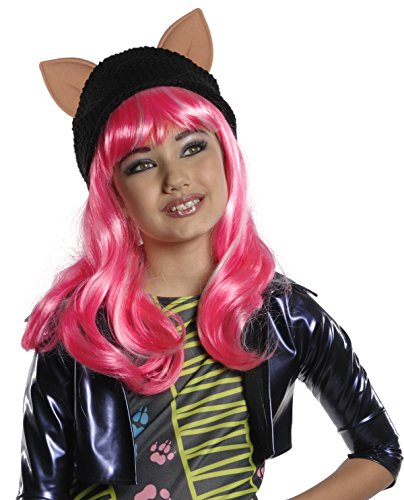 Rubie's-déguisement officiel - Monster High- Perruque licence luxe Howleen Wolf- PE942