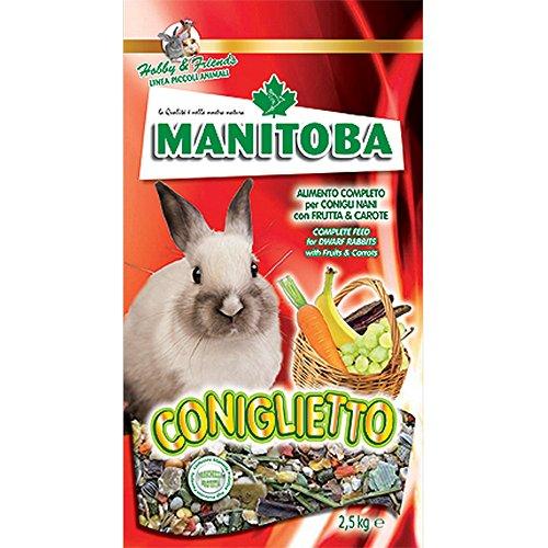 MANITOBA Futter für Kaninchen coniglietto- kg 1 - Nagerfutter