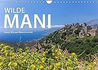 WIlde Mani (Wandkalender 2022 DIN A4 quer): Malerische Ansichten vom Mittelfinger des Peloponnes (Monatskalender, 14 Seiten )