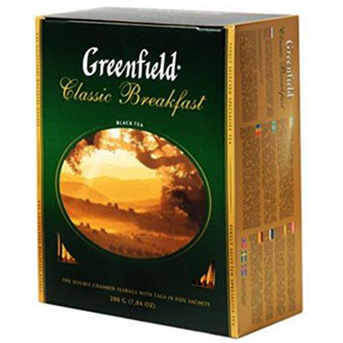 Greenfield Schwarztee Classic Breakfast 100 Beutel Assam Broken Tee black Tea