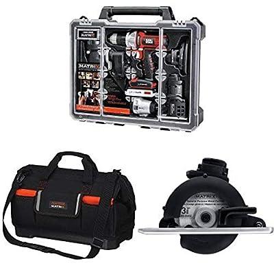 Black & Decker BDCDMT1206KITC Matrix 6 Tool Combo Kit with Case